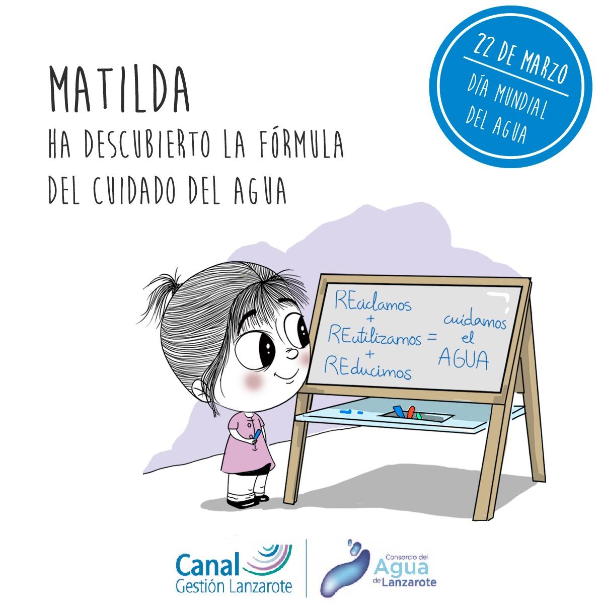 Matilda regresa a lanzarote para compartir su gran for Canal isabel ii oficina virtual
